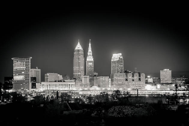 Early Morning In Cleveland, 2013
