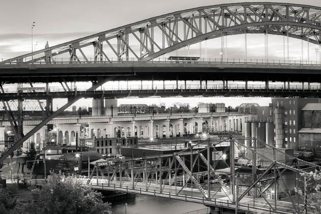 Bridges, Cleveland Flats, 2013