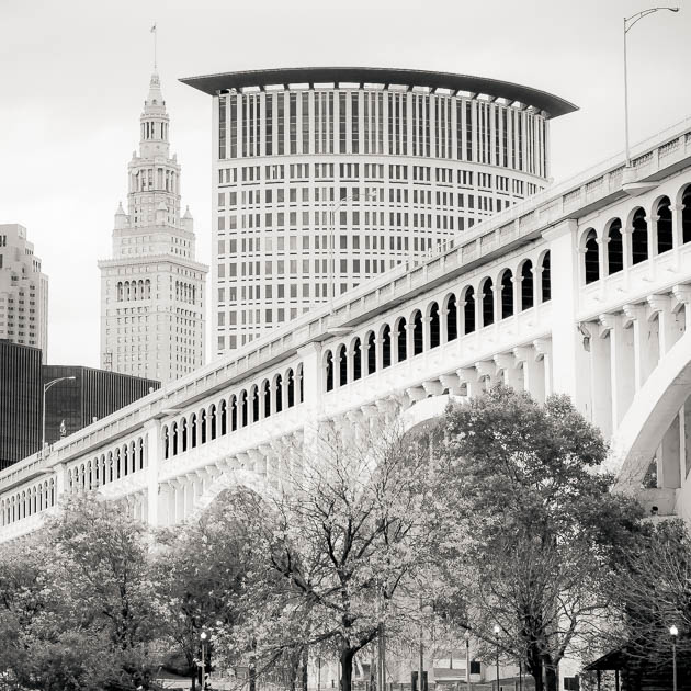 Detroit Superior Bridge, Cleveland, 2013