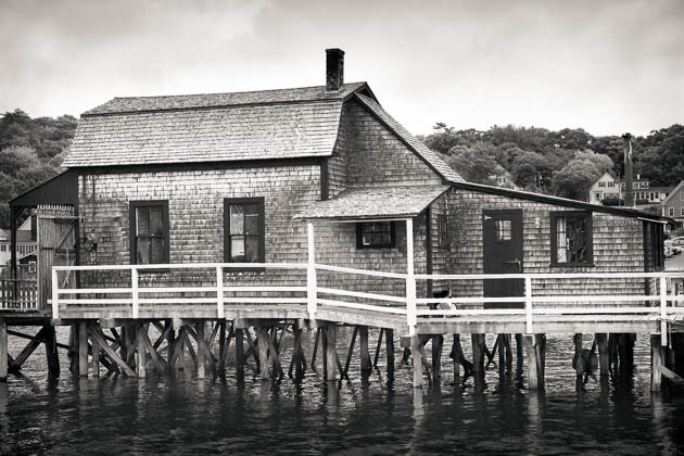 House On The Footbridge, Boothbay Harbor, 2012