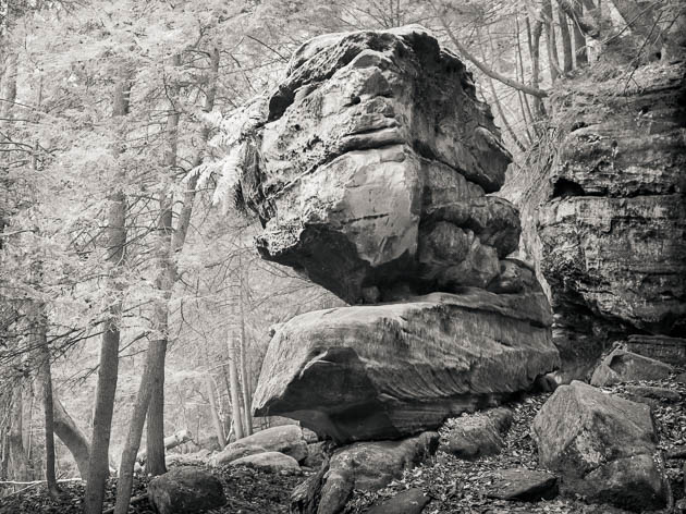 Rock at Virginia Kendall Ledges, 2011