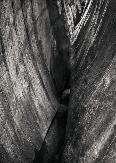 Crevice at Twinsburg Ledges, 2012