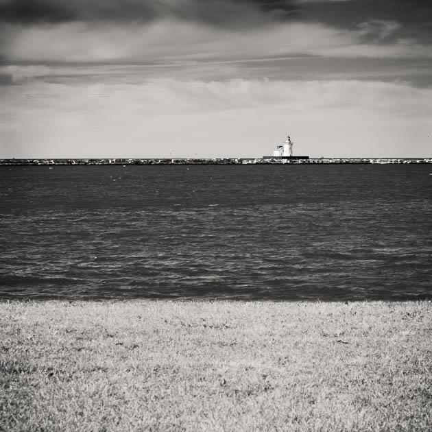 Cleveland Lighthouse, Lake Erie, 2013