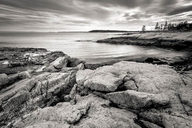 Ocean Point Evening, East Boothbay, 2014