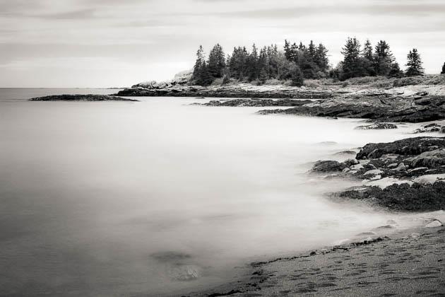 Ocean View, Reid State Park, 2014