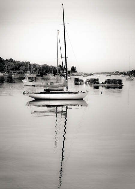 Morning In The Harbor, Boothbay Harbor, 2014