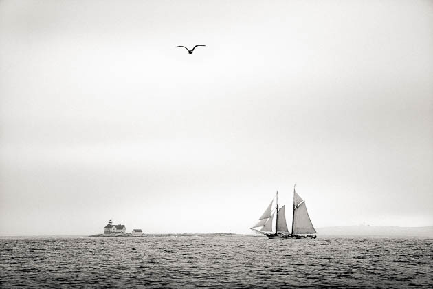 Tall Ship, East Boothbay, 2014
