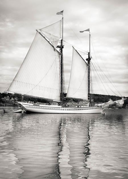 The Schooner Heritage, Boothbay Harbor, 2014